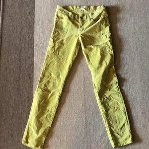 Lucky Brand Charlie Skinny Corduroy Pant 4/27